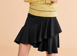 18 RRP £26 Sizes 12 NEXT Ladies Black Stripe Skirt 14 Brand New 16