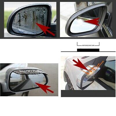 2PCS Car Mirror The Rain Stop Driving On Rainy Accessories AUTO Rearview