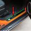 Modanature-4-Battitacco-Battitacchi-Plastica-acciaio-nero-Jeep-Renegade-14-20 miniatura 1