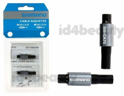 SMCA70 2pcs Shimano SM-CA70 Inline Gear Cable Adjusters