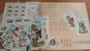 1998-LIBRO-OFICIAL-DE-CORREOS-ESPANA-OFERTA-UNICA-Y-ESPECIAL-SUPER-NUEVO-LUJO