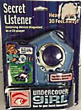 Undercover Girl Secret Listener Disguised As A CD Player Vintage NIB
