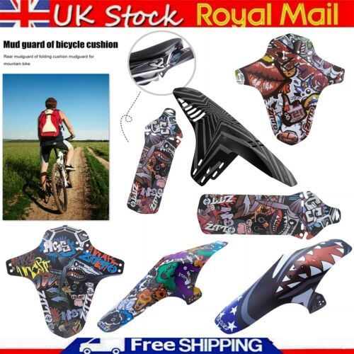 Bicycle Seat Fender Saddle Mudguard Rear Cushion Mountain Bike Accessories UK