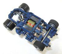 Tyco Slot Car - 3.5 Ohm Wicked Fast Blue Phoenix Wide Pro 8 Polymer /tomy, Bsrt