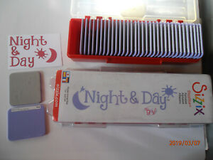 Sizzix-Alphabet-Stanzenset-35-Formen-fur-Stampin-up-Big-Shot-NEU-ovp-Night-amp-Day