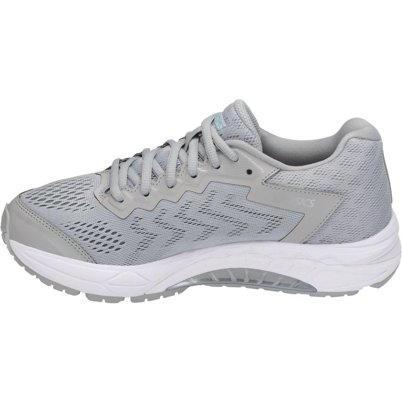 Asics de mujer Gel-fortaleza 8 Calzado Calzado Calzado para Correr gris medio blancoo Azul Porcelana Talla 11  calidad oficial