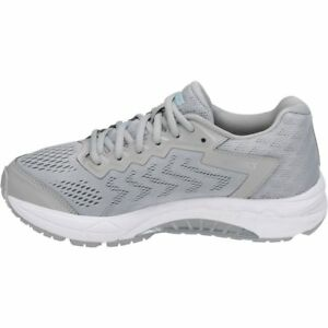 816c7015 Details about ASICS Women's GEL-Fortitude 8 Running Shoe Mid  Grey/White/Porcelain Blue Size 7