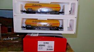 ACME-45093-Set-2-carri-cisterna-Zagkk-BUTANGAS-livrea-gialla-fascia-arancio-FS