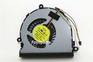 New fan for HP 14-G 14-S 14-R 15-G 15-R 15-H cpu cooling fan DFS470805CL0T FFG7