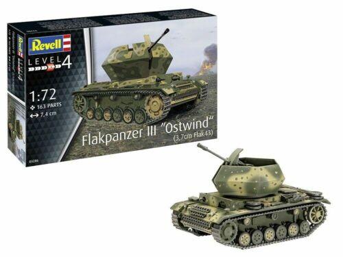 Revell Deutscher Flakpanzer III Ostwind in 1:72 Revell 03286