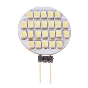 Lampadina-Lampada-G4-24-Led-3528-Smd-Bianco-Puro-2W-12V-Dc-W2R1
