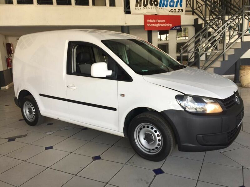 Volkswagen Caddy Panel Van 2.0 TDI, White with 126814km, for sale!
