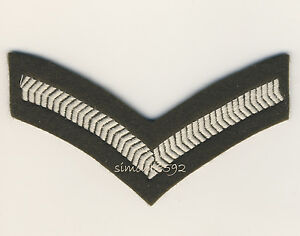 NEW-BRITISH-ARMY-SURPLUS-No-2-OLIVE-LANCE-CORPORAL-STRIPES-SEW-ON-PATCH-CHEVERON