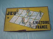AB684 WITHO Mme LUCIEN WILLEMETZ JEUX EDUCATIFS HISTOIRE DE FRANCE 1940 BON ETAT