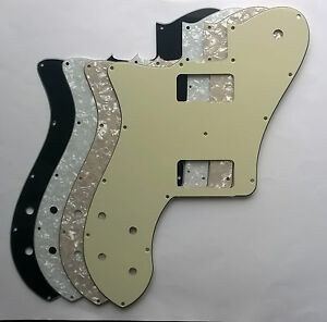 telecaster deluxe left hand pickguard for tv jones filtertron gretsch pickups ebay. Black Bedroom Furniture Sets. Home Design Ideas