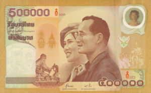Thailand 50 & 500000 Baht Year 2000 P105 & P106 King Rama Ix Reproduction A Great Variety Of Goods