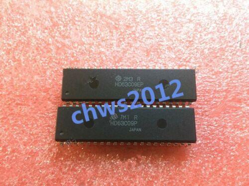 2PCS HD63C09P DIP-40 Microprocessor IC HITACHI