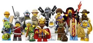 Lego Minifiguras Minifiguras Minifiguras Serie 13 71008 - Completo Conjunto de 16 Lego Minifiguras 9cbdcf