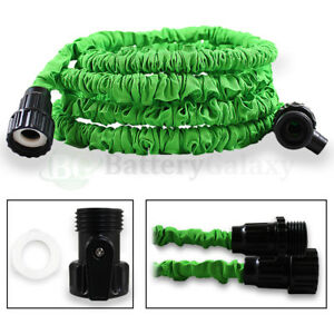 Image Is Loading 25 Feet 25ft Expandable Flexible Garden Lawn Water