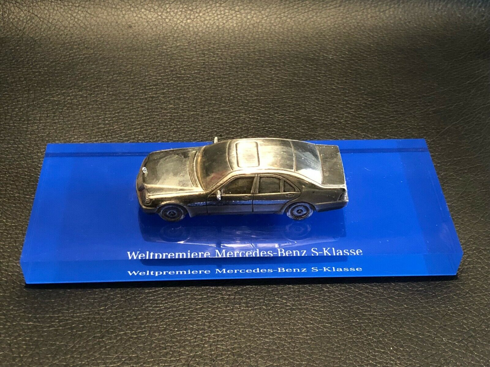 1 64 circa Weltepremiere MERCEDES BENZ S Class Promotional Metal Model no 1 43 2