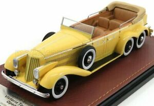 GLM-MODELS 1/43 HISPANO SUIZA | VICTORIA H6A TOWN CAR 1923 OPEN | YELLOW