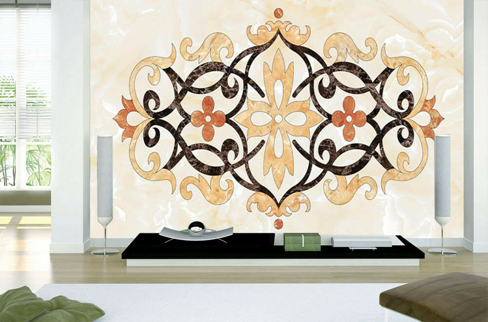 Flower Of Symmetry 3D Full Wall Mural Photo Wallpaper Printing Home Kids Decor