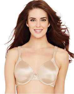 8143a8f678 BALI 3547 Womens Bra 36DD Beige One Smooth U Side Support Underwire ...