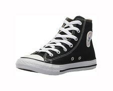 Converse Chuck Taylor All Star Hi Youth US 3 Black SNEAKERS Blemish 1009
