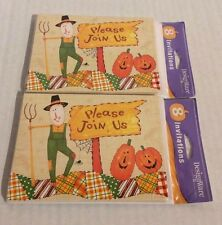 Fall theme invitations lot of two 8 packs 16 total Any event party birthday