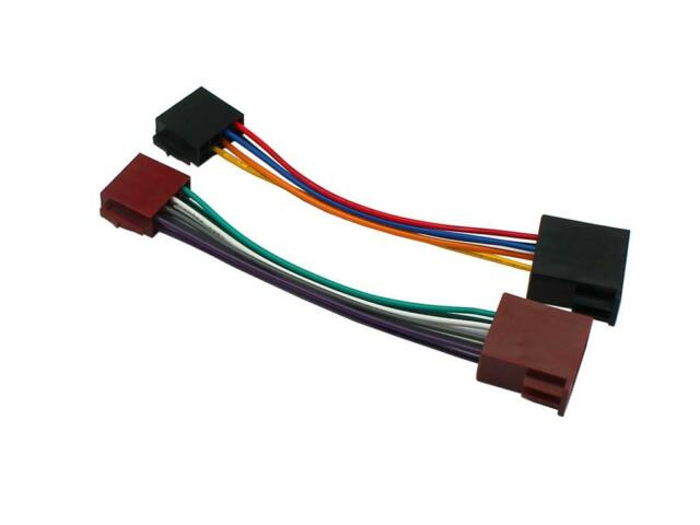 Renault Megane 1996 Onwarwd Iso Lead Harness Adaptor