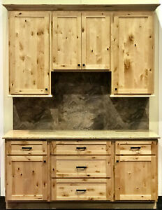 Details about Woodland Rustic Shaker Kitchen Cabinets-Sample door-RTA-All  wood, in stock