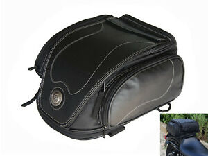 Image Is Loading Tail Bag For Harley Davidson Sportster Dyna Softail