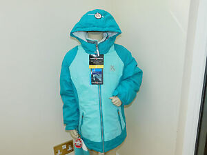 fe97bba144f GIRLS ZEROXPOSUR/GERRY 3 IN 1 JACKET NEW WITH TAGS GREY/TEAL & GREY ...
