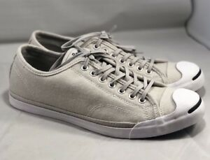 700a31a7d390 Converse Jack Purcell JP LS Low Profile Slip-On Ox Sneaker Ash Grey ...