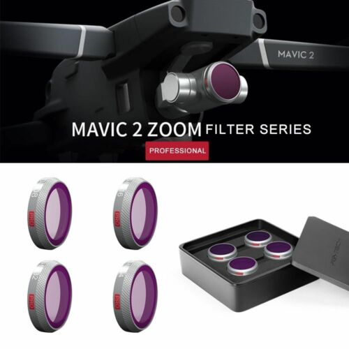 Genuine PGYTECH DJI Mavic 2 ZOOM Drone Camera Lens Filter ND8163264 AUS