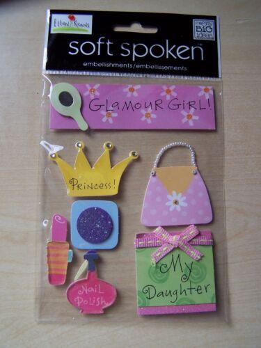 ELLEN GIRL MAMBI SOFT SPOKEN EMBELLISHMENTS