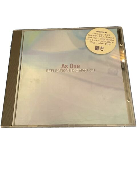 As One - Reflections on Reflections - 1995 CD **RARE TECHNO** - BALIL CARL CRAIG