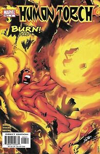 Human-Torch-Comic-4-Cover-A-First-Print-2003-Karl-Kesel-Young-Seung-Marvel