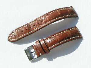 20mm-Breitling-Band-724P-20-18-Croco-braun-brown-Strap-mit-Dornschliesse-078-20