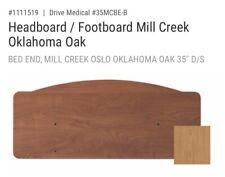 Drive Medical 35 Mill Creek Bed End Oklahoma Oak 35mcbe B 1pc New