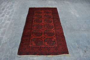 Antiques 3'6 X 6'2 Feet Commodities Are Available Without Restriction Devoted B0 Vintage Handmade Afghan Trubal Beluch Stunning Decor Rug