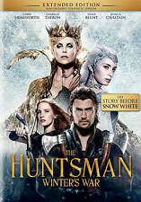 The Huntsman: Winters War (DVD, 2016) New & Sealed FREE Same Day Shipping!