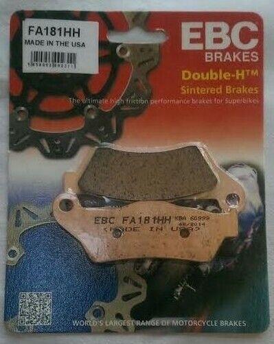 EBC Sintered REAR Disc Brake Pads Fits DUCATI MULTISTRADA 950 (2017 to 2020)