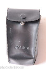 "Canon 155A Flash Speedlite Case 2x3x4"" - Japan - Good Snap - VINTAGE D59"