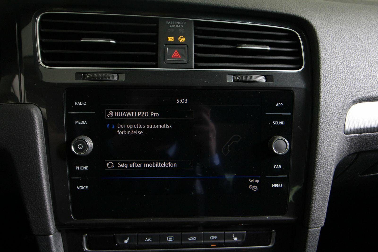 VW Golf VII TSi 125 Trendl. Variant