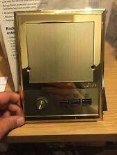 Nutone ISA-319PB Outdoor Patio Intercom Speaker IM3303 IMA3303 IS-319 Brass