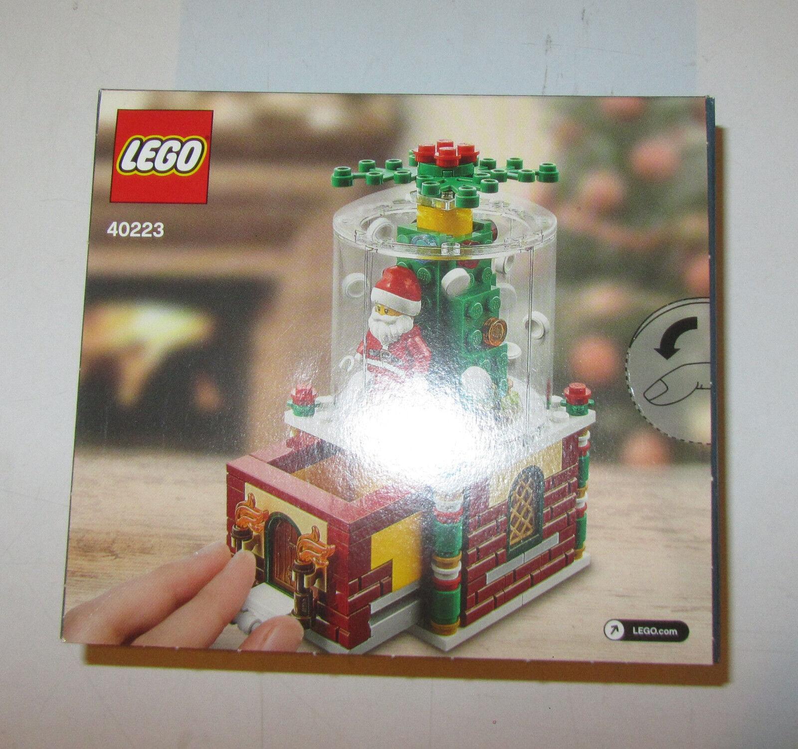 LEGO 40223 Globo di neve set natale 2016 Limited edition SPESE GRATIS