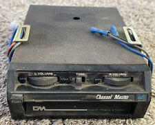 Vintage Channel Master Car 8 Track Stereo Player