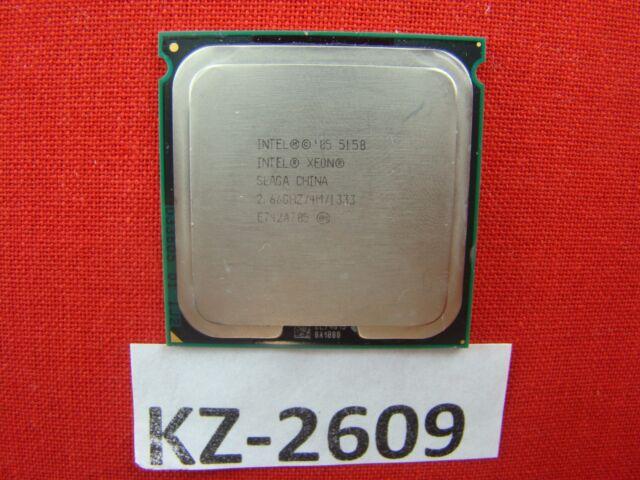 Intel Xeon Processor 5150 4M CACHE 2.66GHz 1333MHz FSB Slaga #KZ-2609