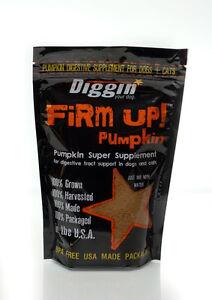 Diggin Your Dog Firm Up Pumpkin Dog Pet Cat Digestive